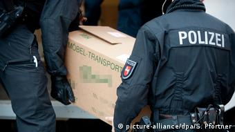 Полицейская облава в Германии