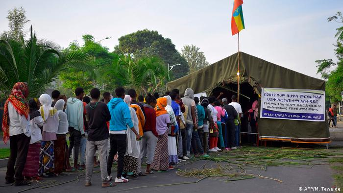 Äthiopien Sidama stimmen über Autonomie ab