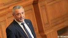 Der Politiker Valeri Simeonov wurde zum stellvertretenden Vorsitzenden des bulgarischen Parlaments gewählt. Es ist von unserem offiziellen Partner BGNES, der uns die Bilder ohne Einschränkung zur Verfügung stellt.