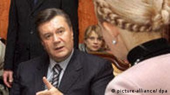 Tymoshenko and Yanukovich
