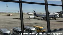 Russland Moskau Flughafen Airport Scheremetjewo