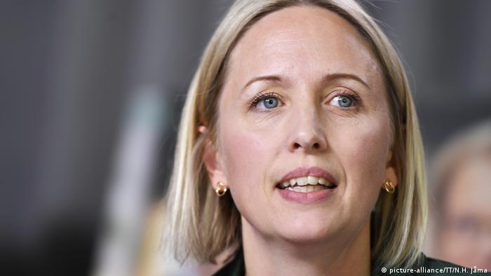 Abgeordnete Europäisches Parlament Jytte Guteland aus Schweden (picture-alliance/TT/N.H. Jåma)