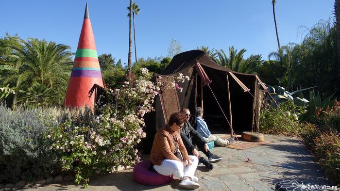 Marokko ANIMA-Garden (DW/V. Witting)
