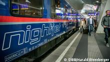 Österreich Nachtzug Nightjet