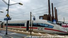 Deutschland | Bahnhof Wolfsburg