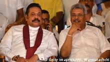 Sri Lanka | Präsident Mahinda Rajapaksa und sein Bruder Gotabaya Rajapaksa