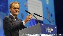 Kroatien | Donald Tusk zu Bewsuch in Zagreb