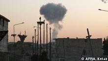 Syrien Luftangriff in Idlib