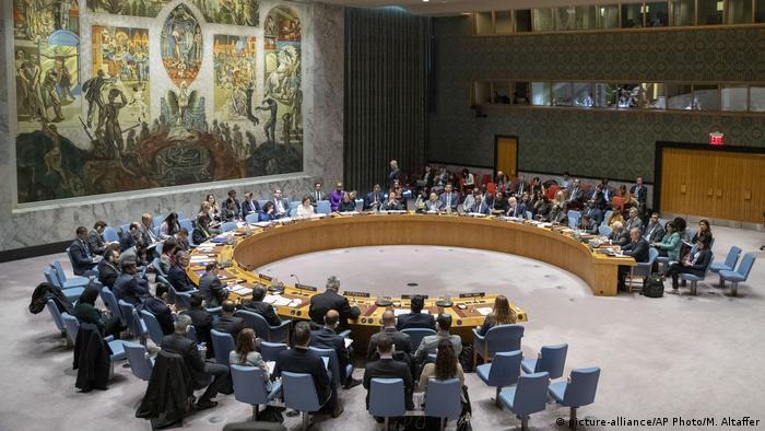 صورة رمزية لجلسة بمجلس الأمن