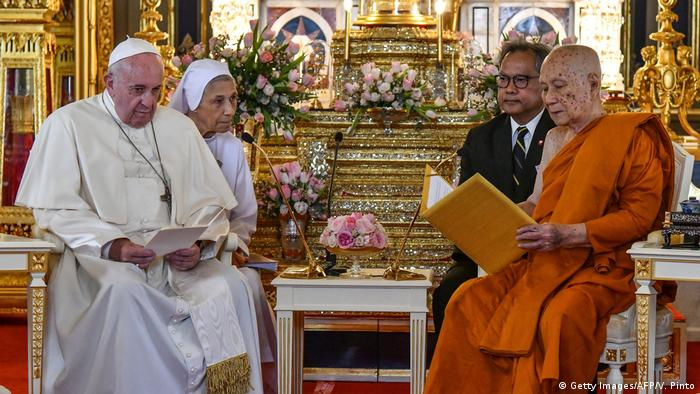 Thailand Papst Franziskus in Bangkok (Getty Images/AFP/V. Pinto)