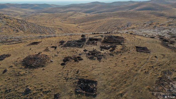 Türkei archäologische Ausgrabungsstätte Harbetsuvan