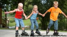 Symbolbild Kinder und Sport
