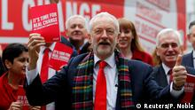 Leader of the Labour Party Jeremy Corbyn holds his party's general election manifesto at its launch in Birmingham, Britain November 21, 2019. REUTERS/Phil Noble