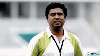 Utpal Shuvro, renowned Sports Journalist of Bangladesh.