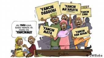 Karikatur: Nigeria Kinderrechte