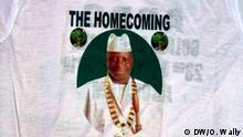 Gambia Willkommens-T-Shirt für Yahya Jammeh