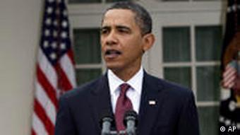 Bill Clinton (l.), Barack Obama (M.) und George W. Bush (r.) (Foto: AP)