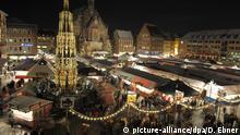 Deutschland Nürnberger Christkindlesmarkt