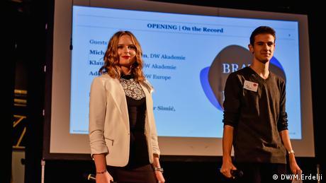 Serbien Belgrad Brave New Media Forum der DW Akademie (DW/M.Erdelji)