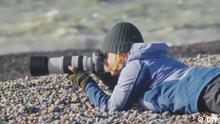 DW euromaxx 23.11.19 Wellenfotografin Rachel Talibart