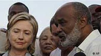 Haiti / Clinton / Preval / Erdbeben