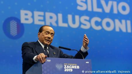Ex-Italian premier Silvio Berlusconi
