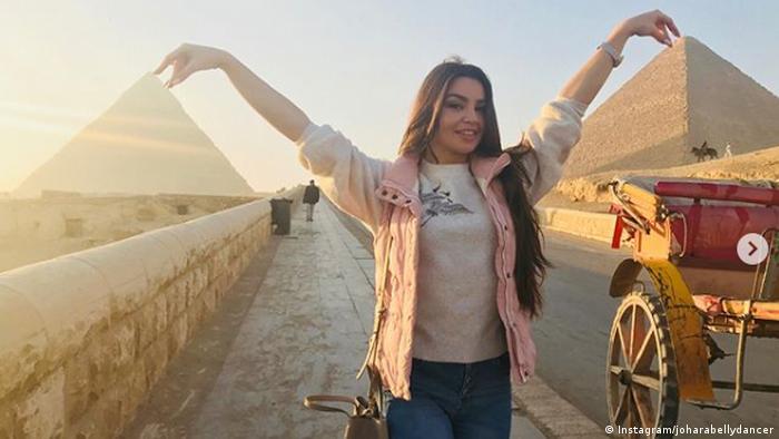 El Cairo es el nuevo hogar de la bailarina Ekaterina Andreeva