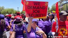 Südafrika South African Airways Streik