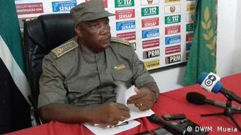 Mosambik Generalkommandeur der Polizei Timóteo Bernard