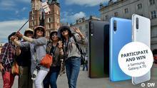 DW Travel sweepstakes Gewinnspiel Samsung