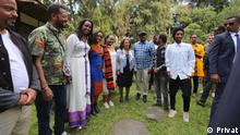 Young Artist had one day Art Tour in German, Franc and Belgium Embassy in Addis Ababa Ethiopia. The tour has ended up in Presidential Place. The Young Artist and Painters have met With President of Ethiopia Sahle Work Zewde_18.11.2019 Rechte: Seifu Abebe/Privat