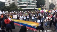 Kolumbien Paro Nacional Landesweiter Streik gegen die Regierung