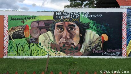 Peru | Projekt Amazonie | Pucallpa | Grafitti beim Yarinacochaplatz
