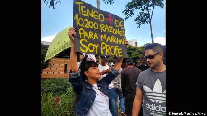 Kolumbien Medellin Paro Nacional Landesweiter Streik gegen Regierung (Hurtado/Ramirez/Pérez)