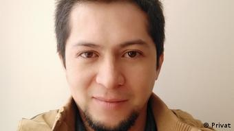 Boris Duarte Caviedes, politólogo y docente de la Universidad Nacional de Colombia