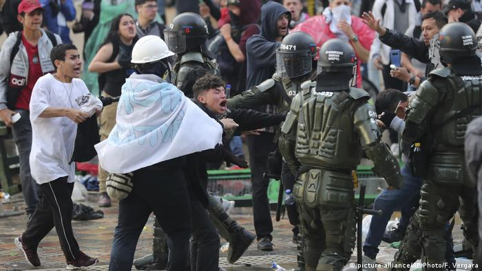 Protests in Colombia