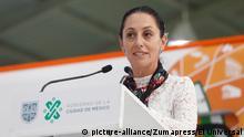 Bürgermeisterin der mexikanischen Hauptstadt Claudia Sheinbaum