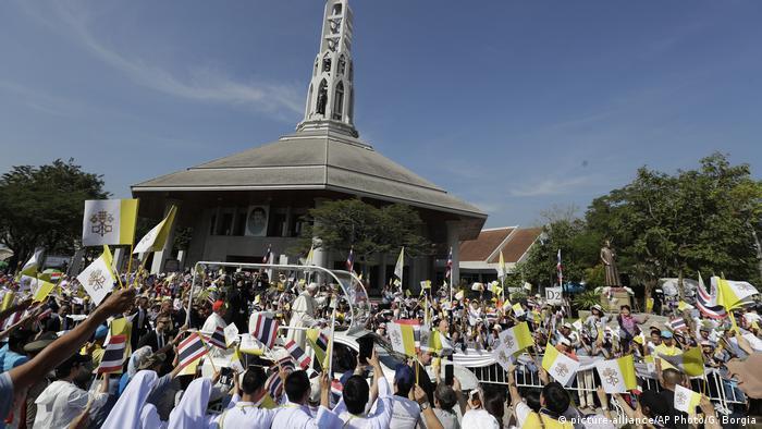 Thailand Papstbesuch in Bangkok