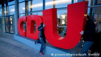 CDU-Bundesparteitag in Leipzig