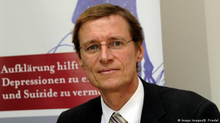 Profesorul Ulrich Hegerl