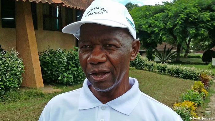 Pereira Creva Gama, presidente do Encontro Fraternal das Igrejas em Manica