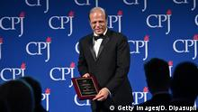 Zaffar Abbas Verleihung International Press Freedom Awards