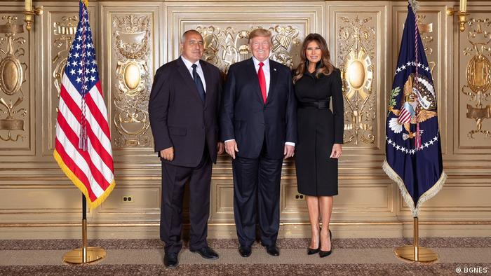 Борисов с Тръмп и съпругата му в Ню Йорк
