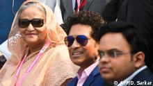 Indien Kalkutta Cricket Test Indien vs. Bangladesch mit Sheik Hasina