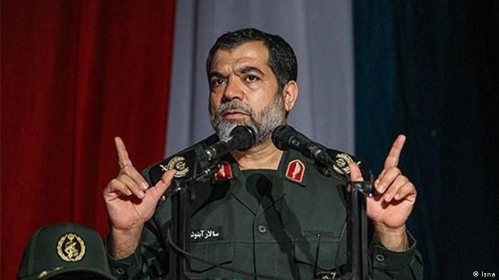 سالار آبنوش، فرمانده عملیات سازمان بسیج