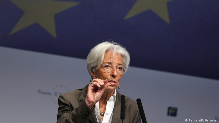 Deutschland Frankfurt Christine Lagarde beim European Banking Congress (EBC)