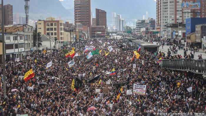 Generalstreik gegen Ivan Duque in Kolumbien
