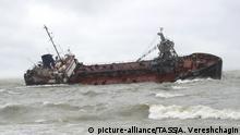 Ukraine Odessa Delfi Tankerunglück
