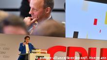 CDU-Bundesparteitag Annegret Kramp-Karrenbauer und Friedrich Merz
