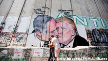 PALESTINIAN-ISRAEL-CONFLICT-WALL